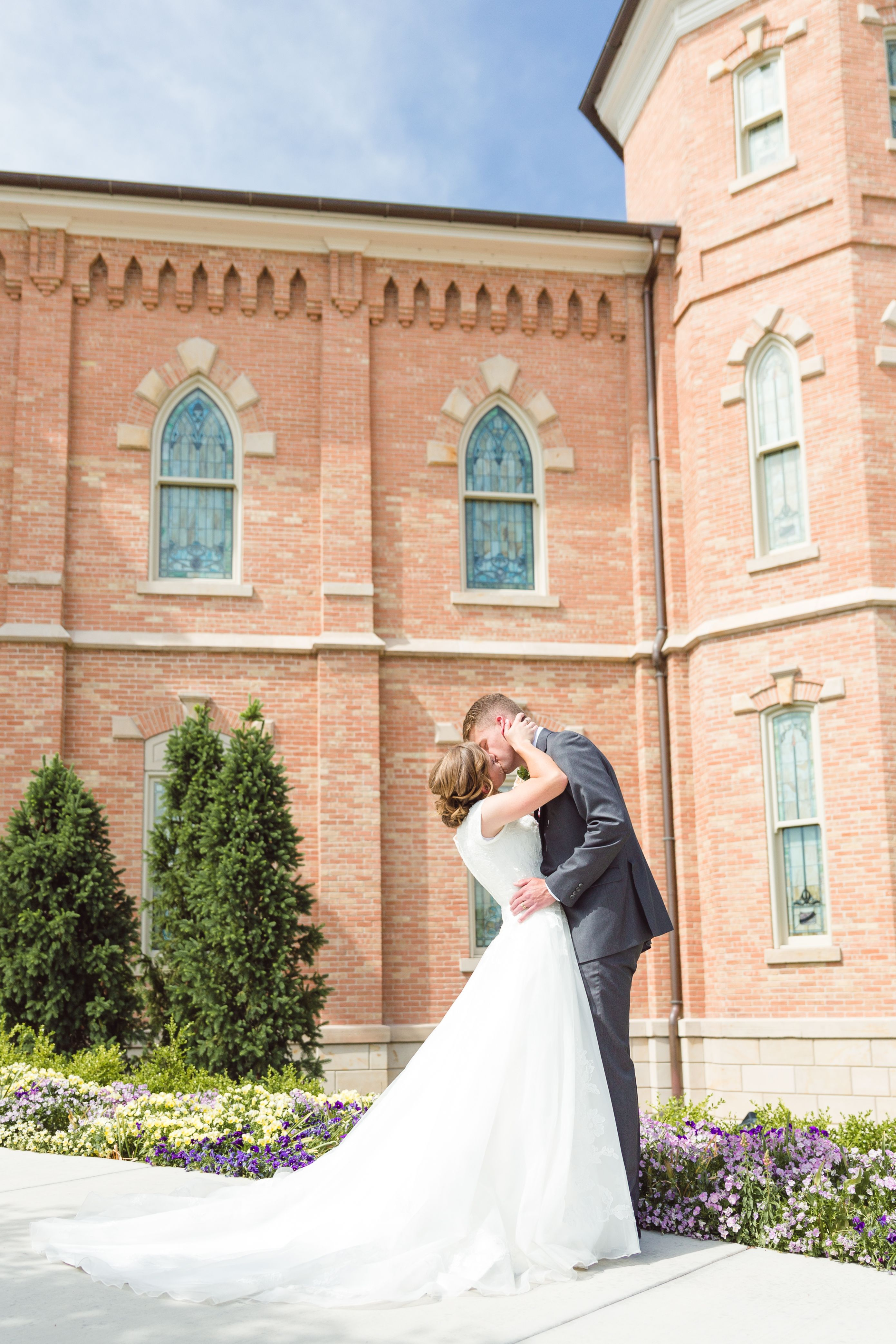 Pin on lds temple weddings