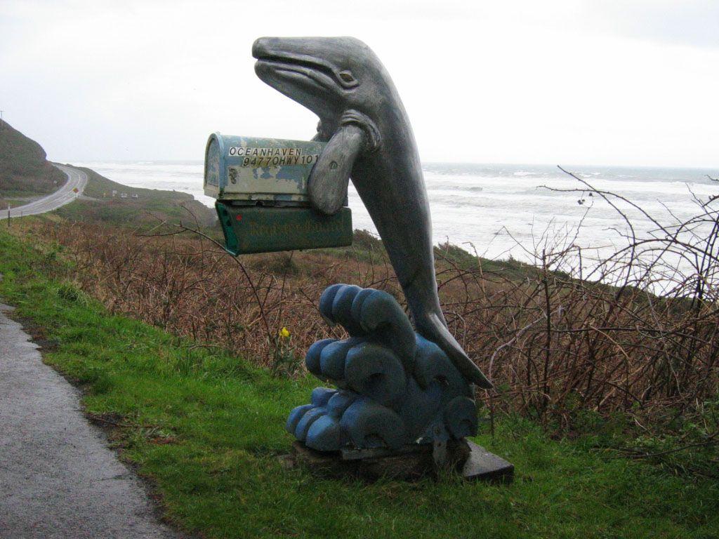 Whale of a mailbox! Antique mailbox, Unique mailboxes