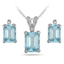 Google Image Result for http://img4.wfrcdn.com/lf/49/hash/23445/8346191/1/Szul-Jewelry-Sterling-Silver-Emerald-Cut-Aquamarine-Jewelry-Set.jp...