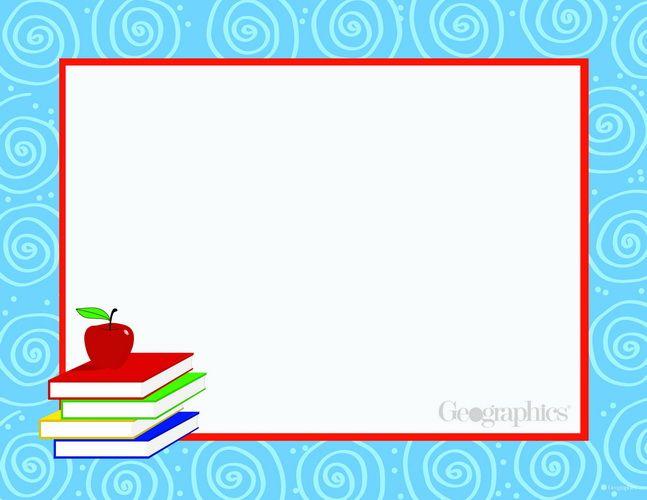 Book Stack School Certificates, 85x11, 25 PK, 12 Pks Case BORDERS - fresh google docs certificate template