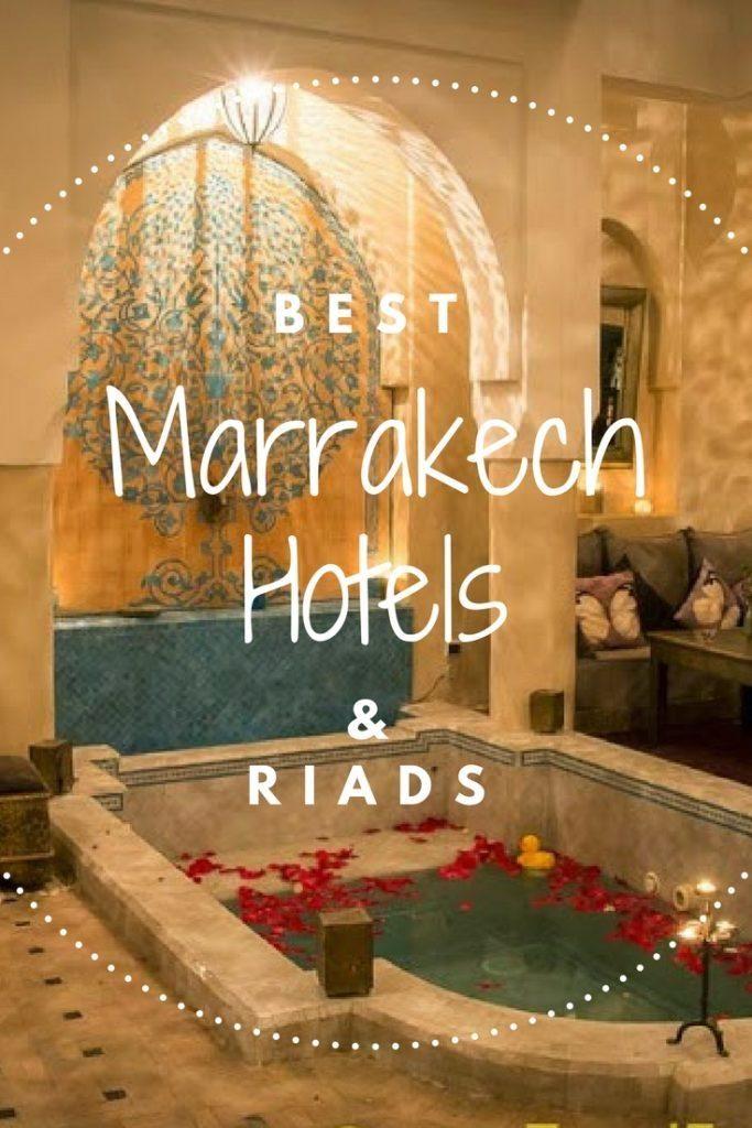 Best Hotels Marrakech Morocco