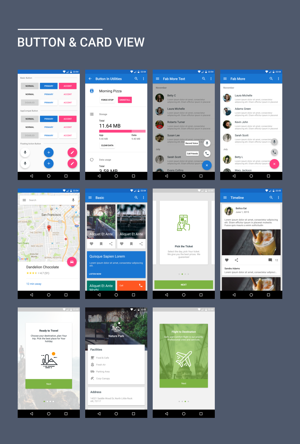 Materialx Android Material Design Ui Components 22 Website