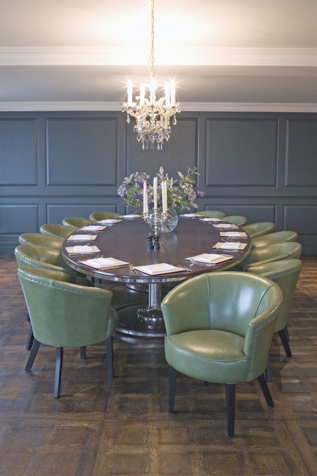 Soho House Shoreditch: Elegant Petworth Chairs @ Shoreditch House From George