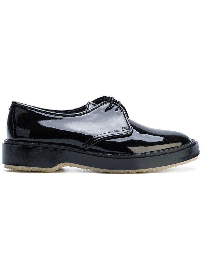 ADIEU ADIEU PARIS - PATENT DERBY SHOES . #adieu #shoes ...