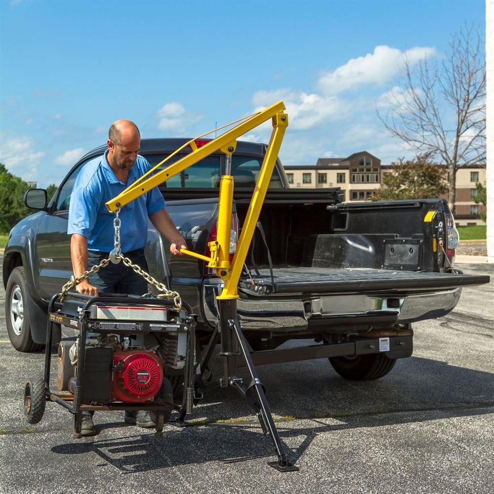 Apex Hydraulic Receiver Hitch Crane 1,000 lb. Capacity