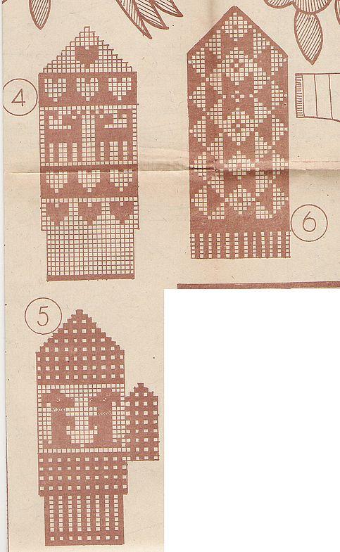 Kindad 2 nn 10 78-4 | Варежки, vantar, mittens, gloves | Pinterest