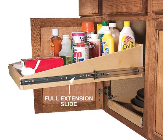 Extra Kitchen Shelves: 10 Easy Ways To Add Roll-Outs