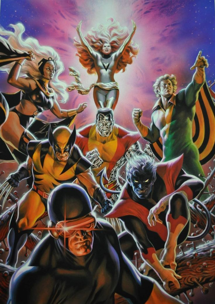 The X-Men by Felipe Massafera *