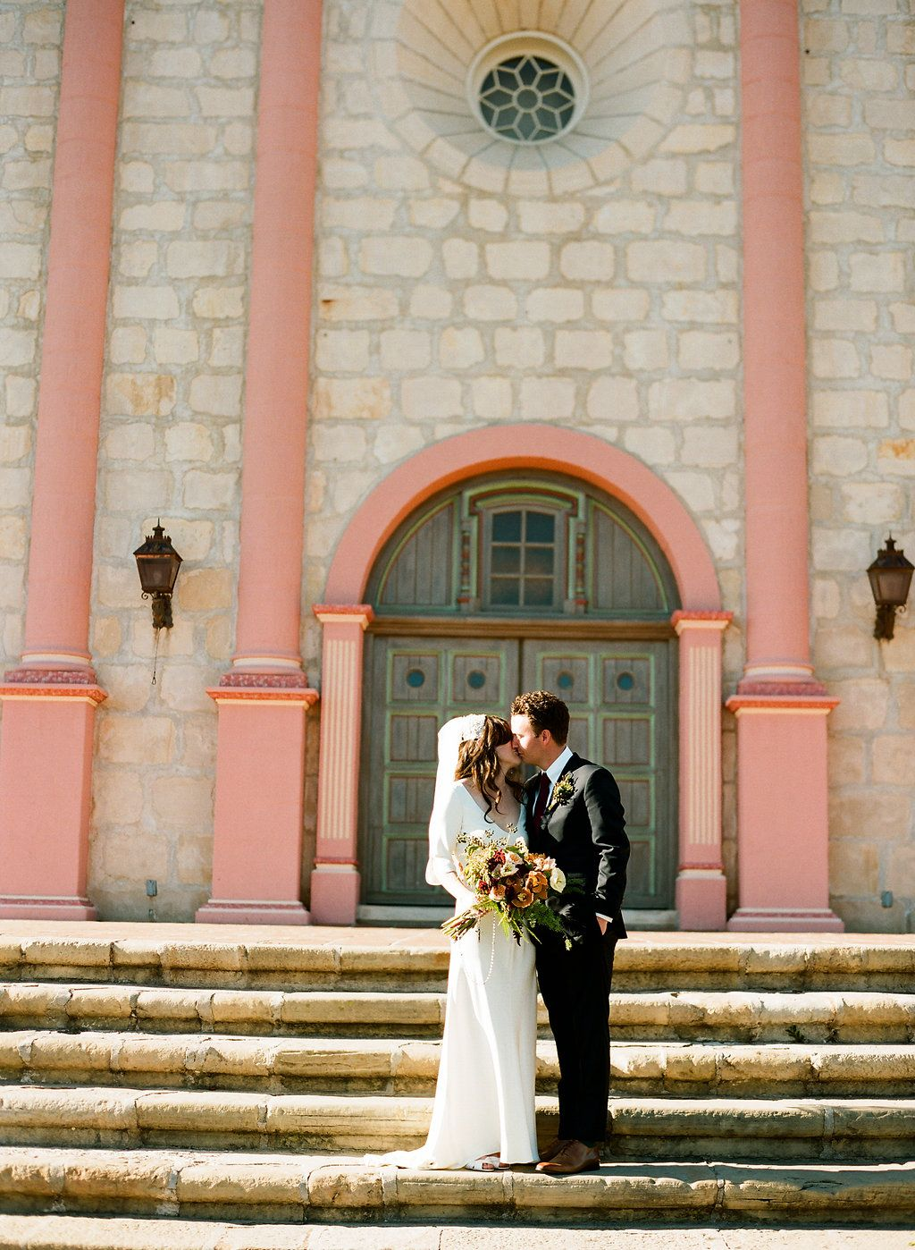 Find This Pin And More On Real Santa Barbara Wedding Megan Nick S Gorgeous Mission Ceremony
