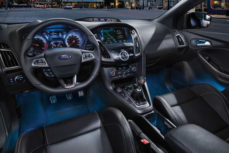2018 Focus St Interior Ford Hatchback