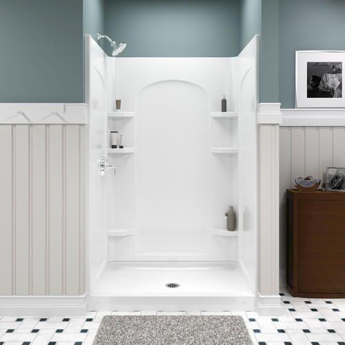 Sterling Ensemble 48 Quot Shower Curve Shower Wall Shower