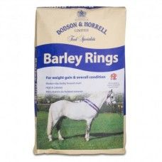 Dodson & Horrell Barley Rings 15kg - Horse Feed - Dodson & Horrell