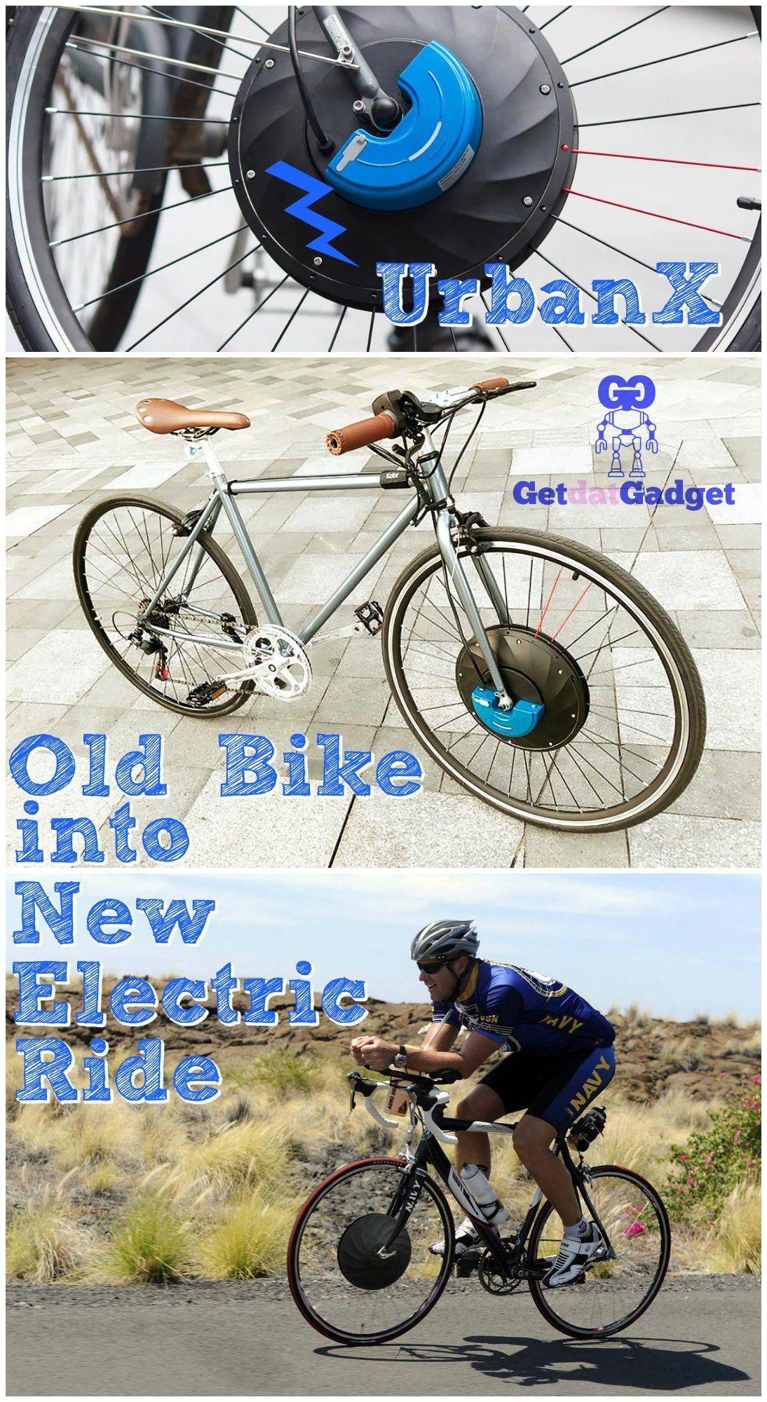 Convert Any Bike Into An Electric Bike With Urbanx Bike Cool