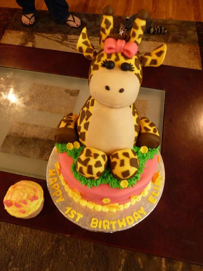 giraffecakeimages Baby Giraffe Cake Childrens Birthday Cakes