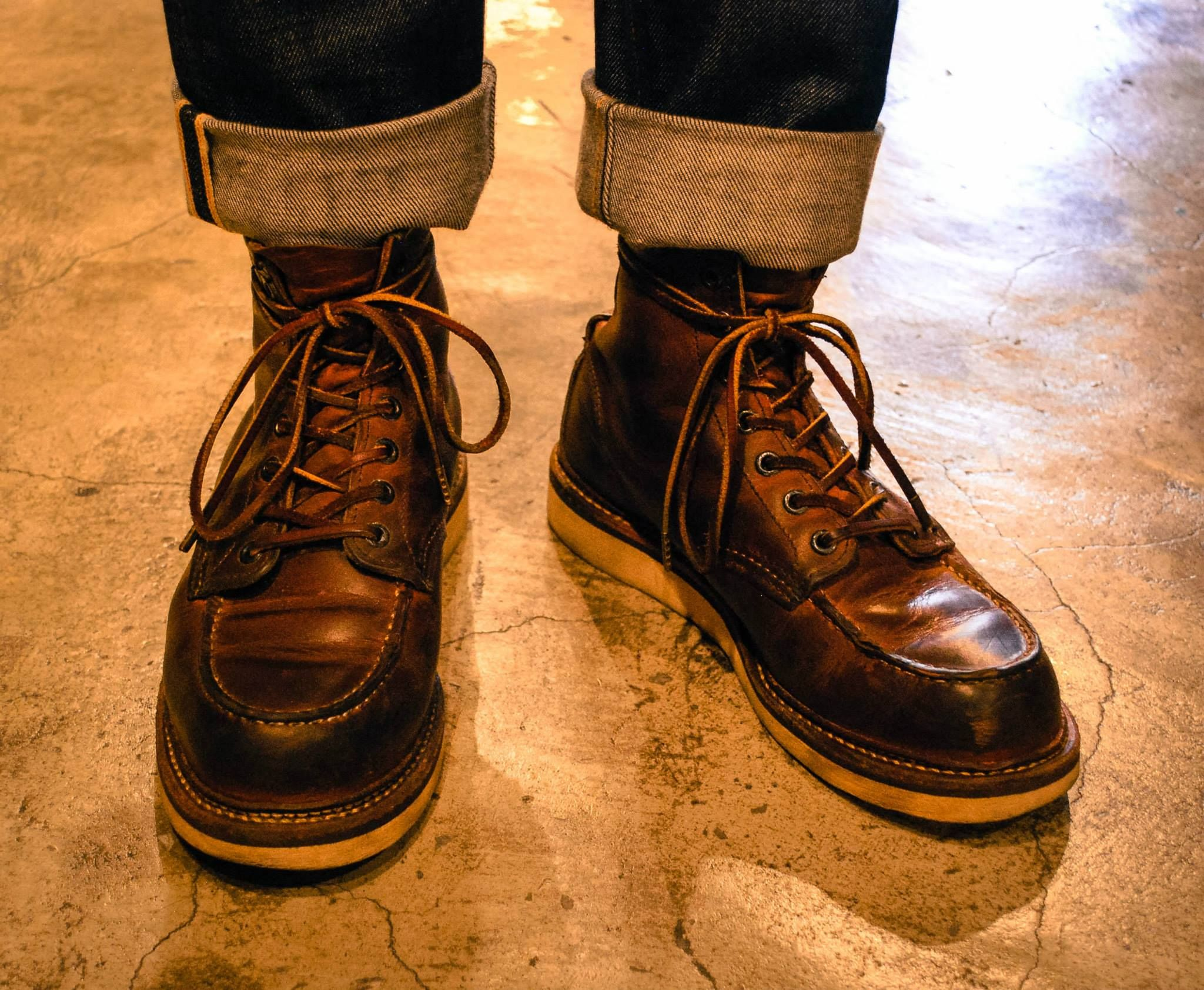 red wing 6 inch moc toe 1907 used boots pinterest vintage boots pinterest. Black Bedroom Furniture Sets. Home Design Ideas