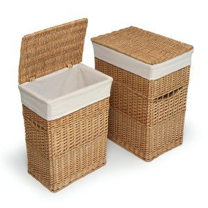 Why are so many hampers described as nursery-specific? I like these because we could remove the bags and take those down to the laundry room.