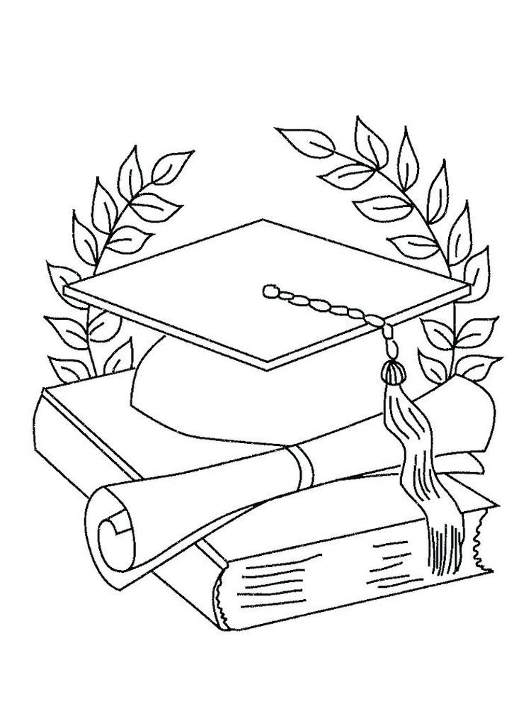 Graduation Coloring Sheets Kindergarten Graduation Day Is A Day That Students Always Look Forward To Coloring Pages Printable Coloring Pages Graduation Images