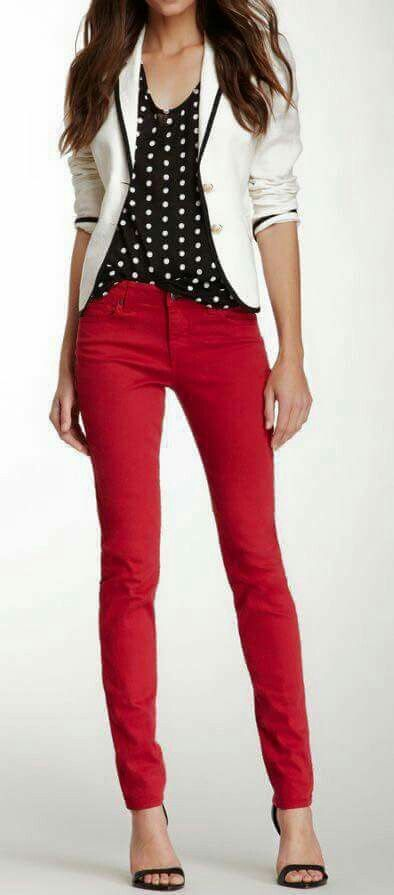 Pantalon Rojo Ropa Pantalones Rojos Ropa Casual