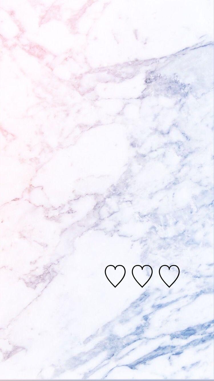 Iphone Wallpaper Serenity Rose Quartz Pantone 2016 Love Marble
