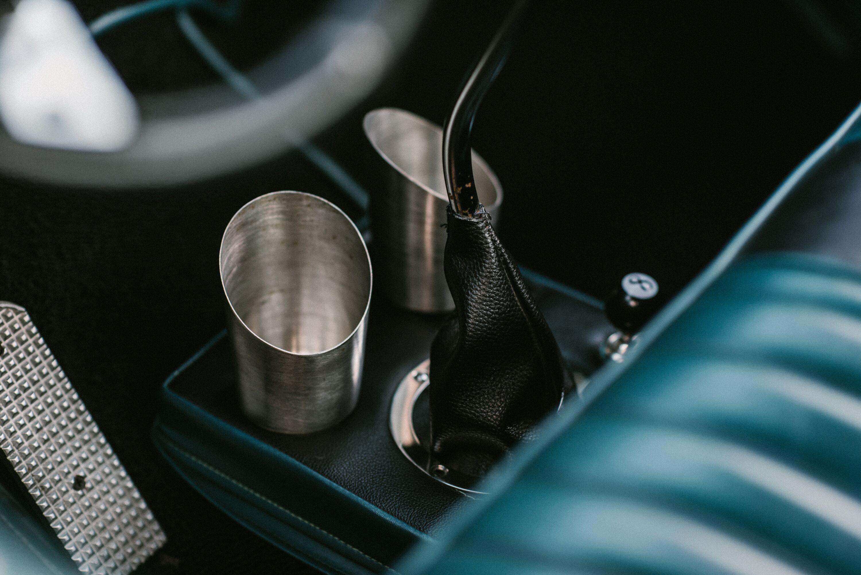 Randy's Bomb Shop Cup holder, Rat rod, Glassware