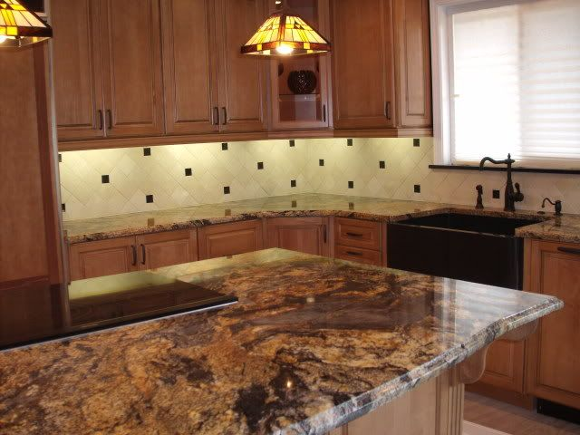Backsplash For Titanium Granite Countertop Google Search Cosmos Granite Granite Kitchen Kitchen
