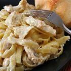 Crock Pot Cream Cheese Chicken Fettuccine Recipe
