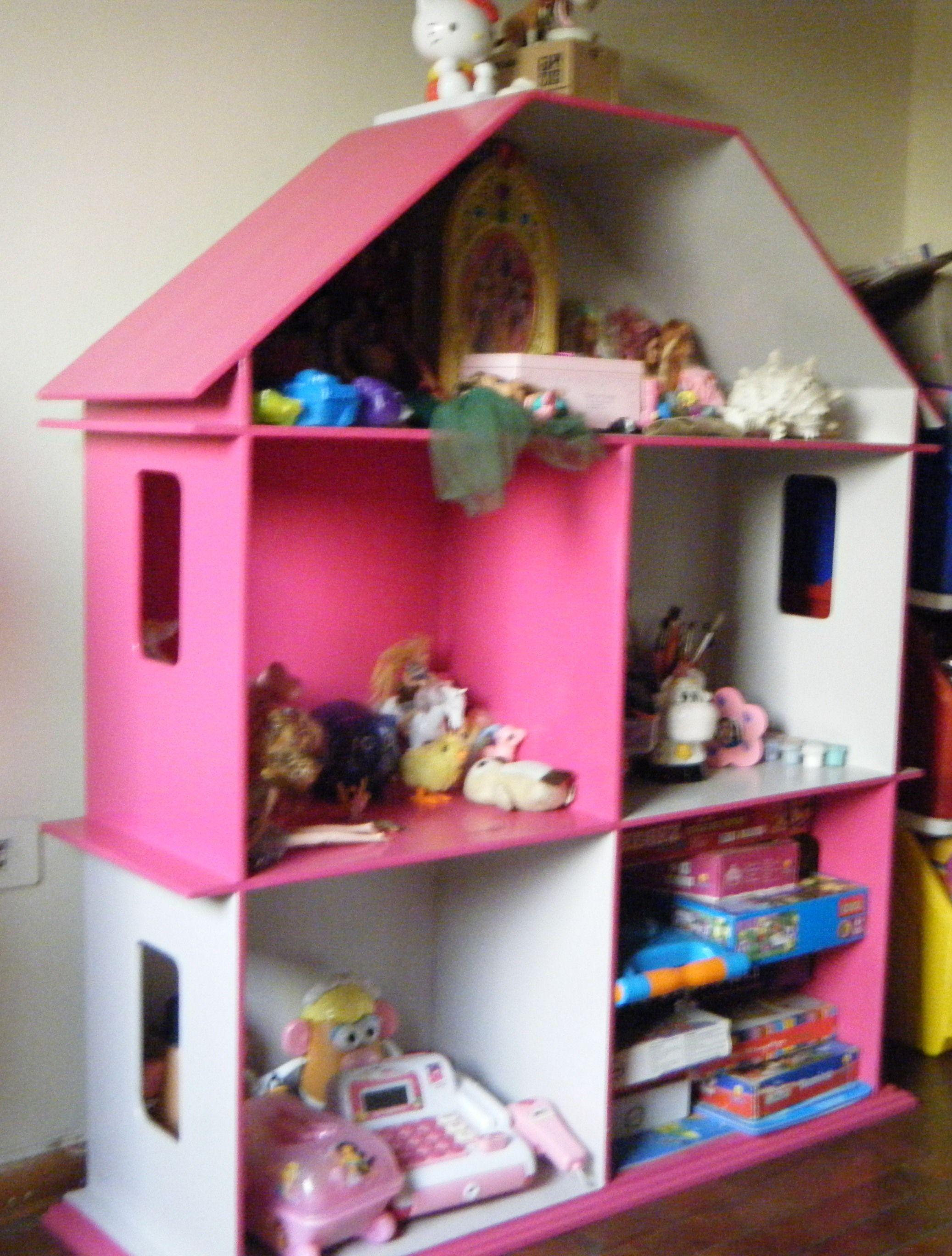 Casita-organizador de juguetes para niña | Organizador de ...