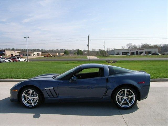 2012 Chevrolet Corvette Grand Sport Supersonic Blue Metallic