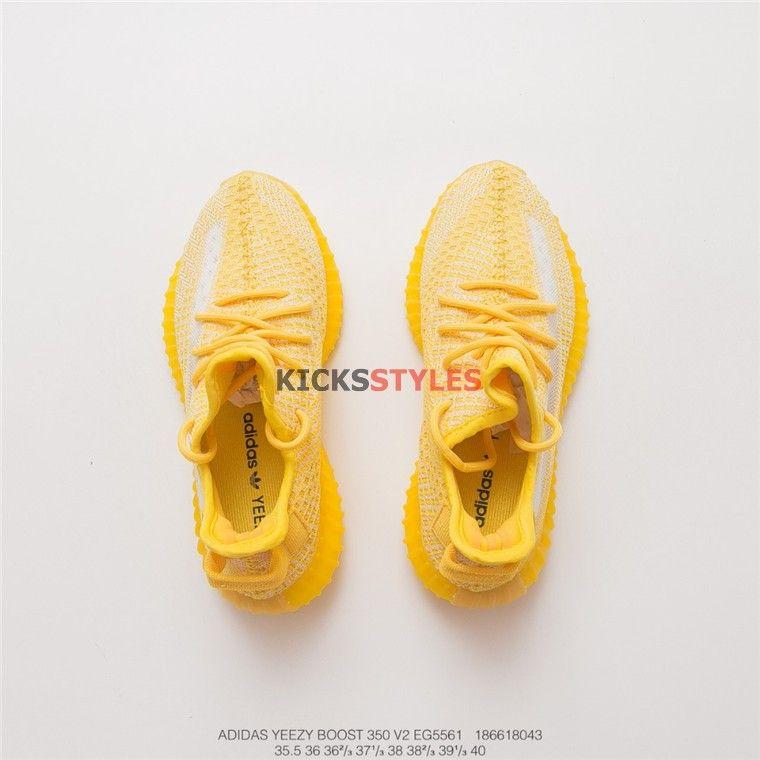 Custom Yeezy Boost 350 V2 Yellow