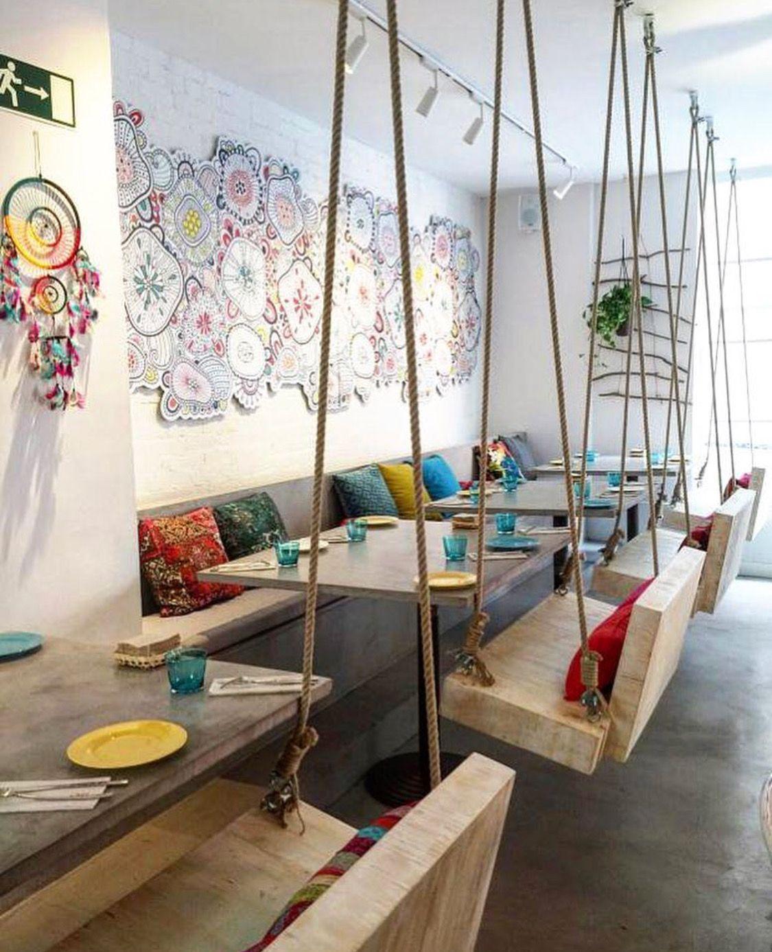 Pin De Archikron En Restaurant Bistro Pinterest Dise O De  # Muebles Heladeria