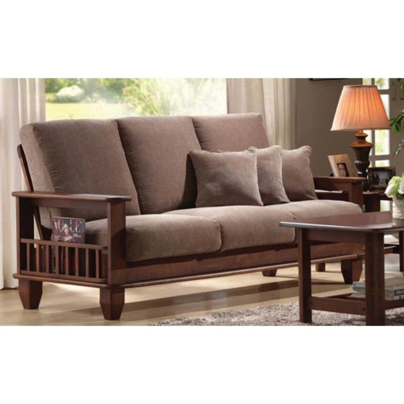 Wooden Sofa Set 3 1 1 Polo Wooden Furniture Online Wooden Sofa Set Wooden Sofa Designs Wooden Sofa Set Designs