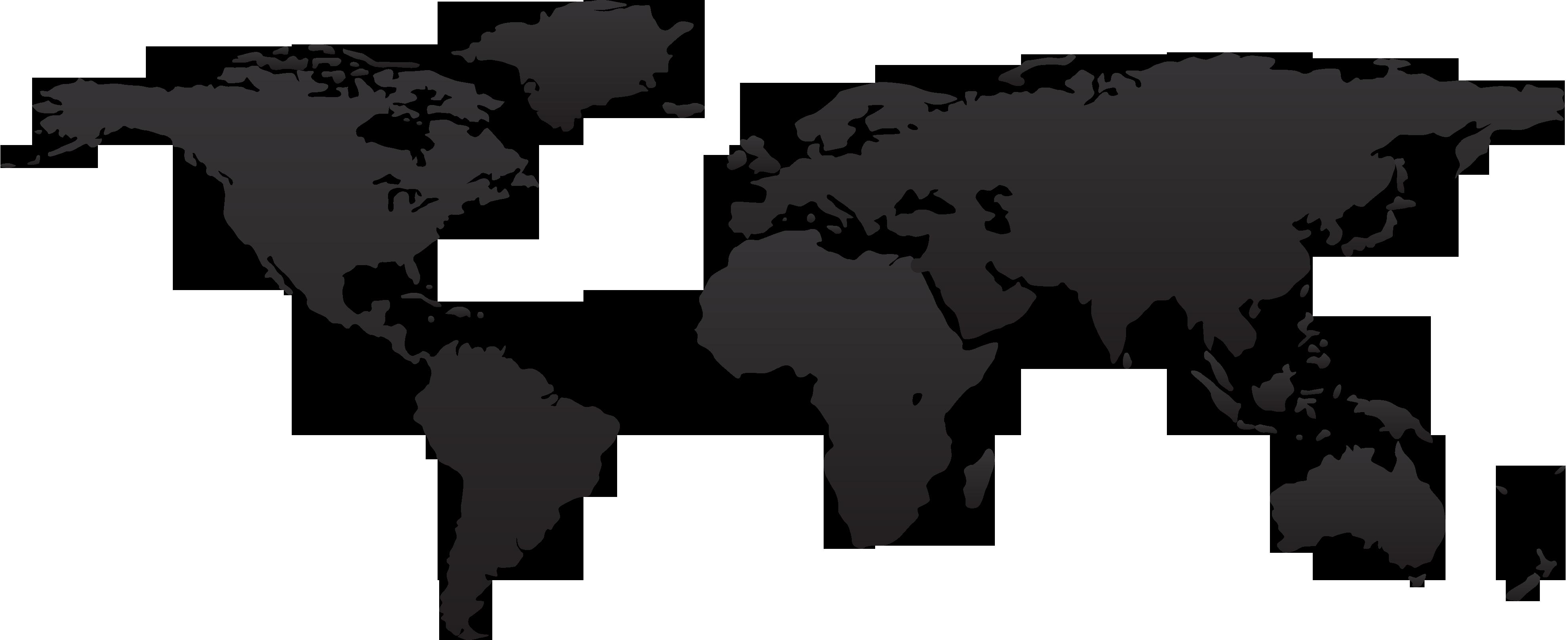 Humungour PNG Flat World Map Juice Cartinepng - World map flat