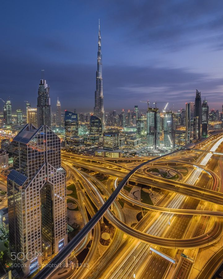 JUST ANOTHER ROOFTOP FROM DUBAI by bjornmoerman