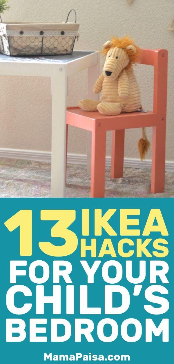 13 Simple DIY IKEA Hacks For Any Kids Room
