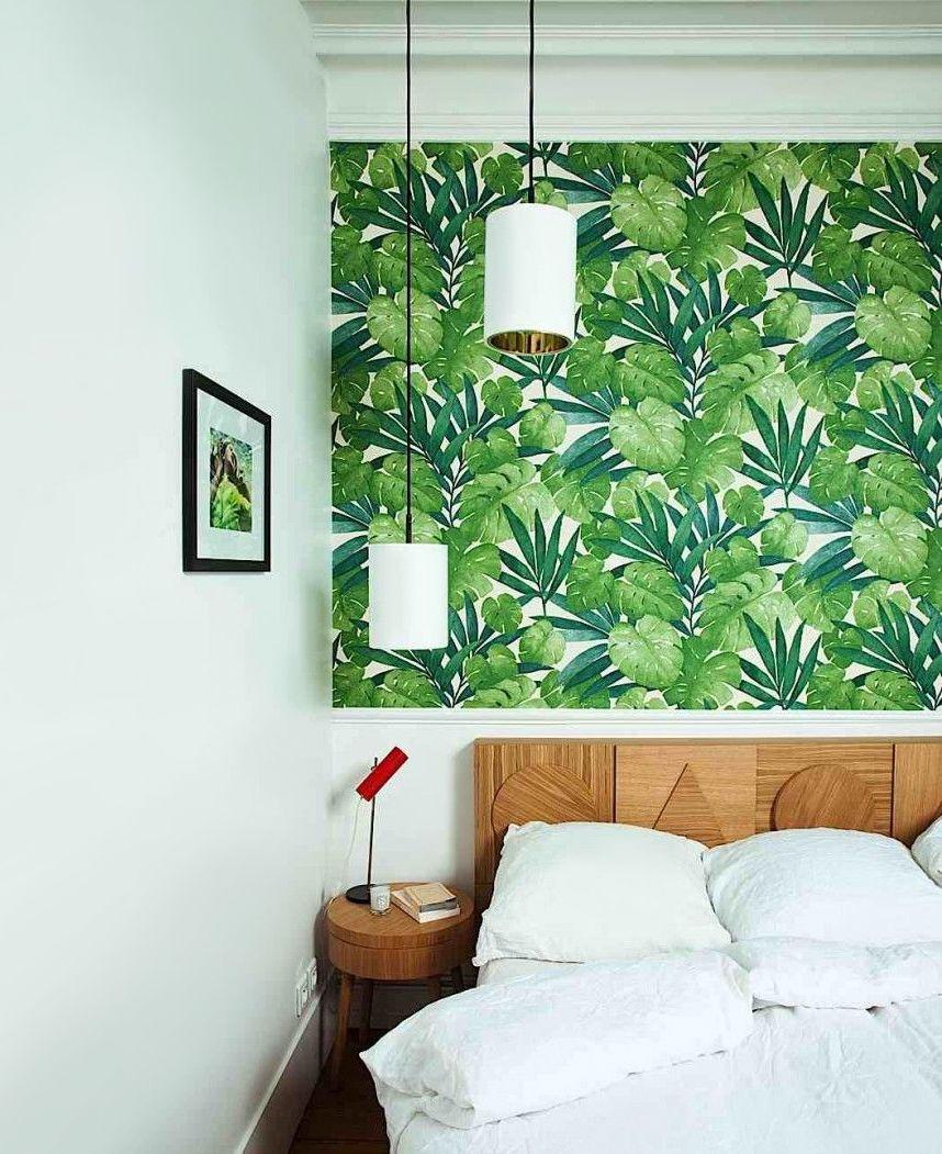 grafisch behang groen - Google zoeken - Slaapkamer | Pinterest ...