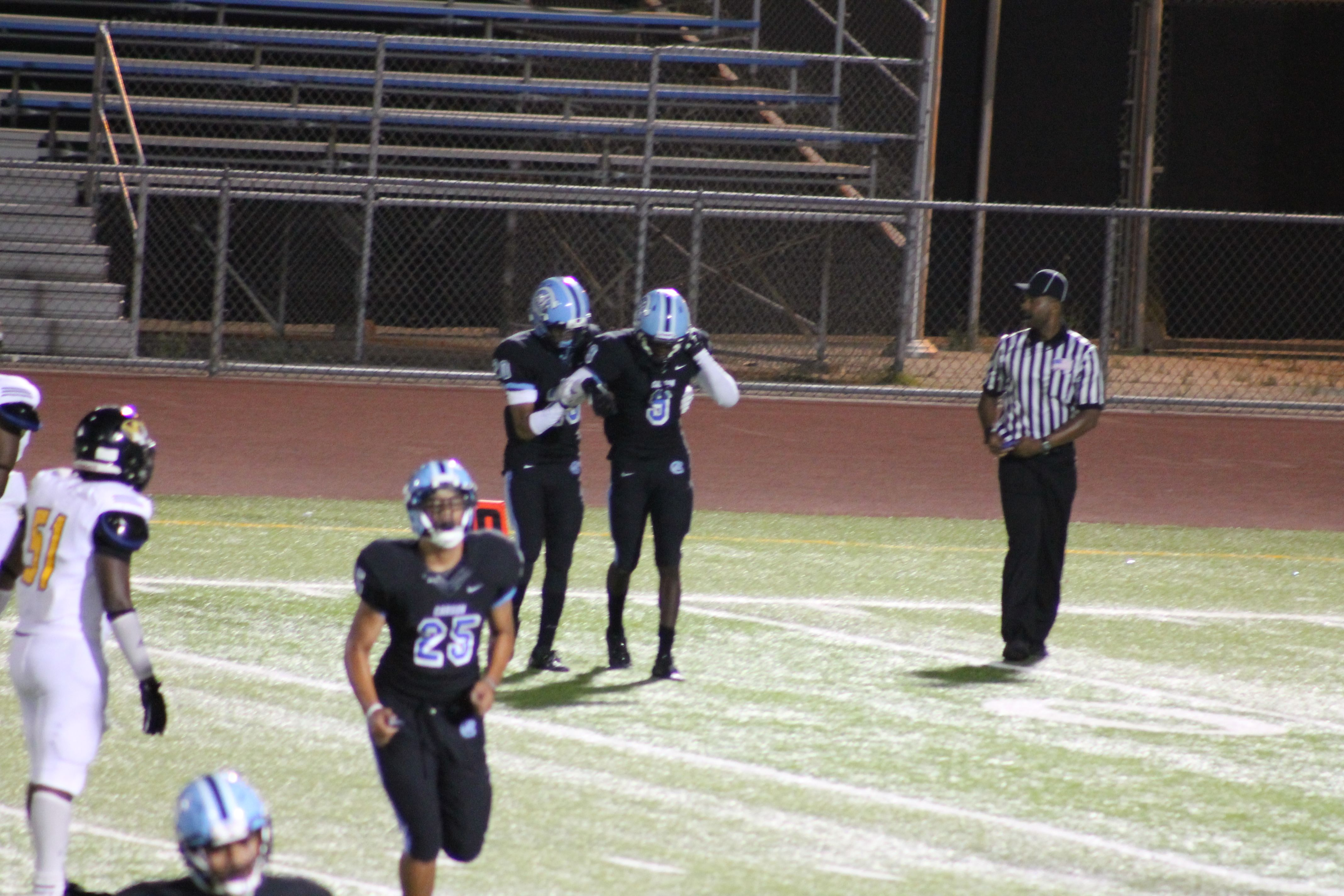 A Little shaken up on the play