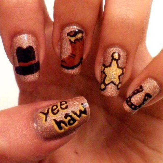 Country Girl Nail Art: Cowgirl Nails!