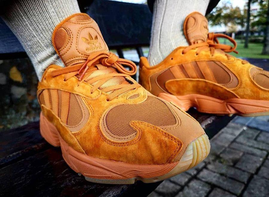 Où trouver la Adidas Yung 1 Size? Exclusive Orange 'Craft