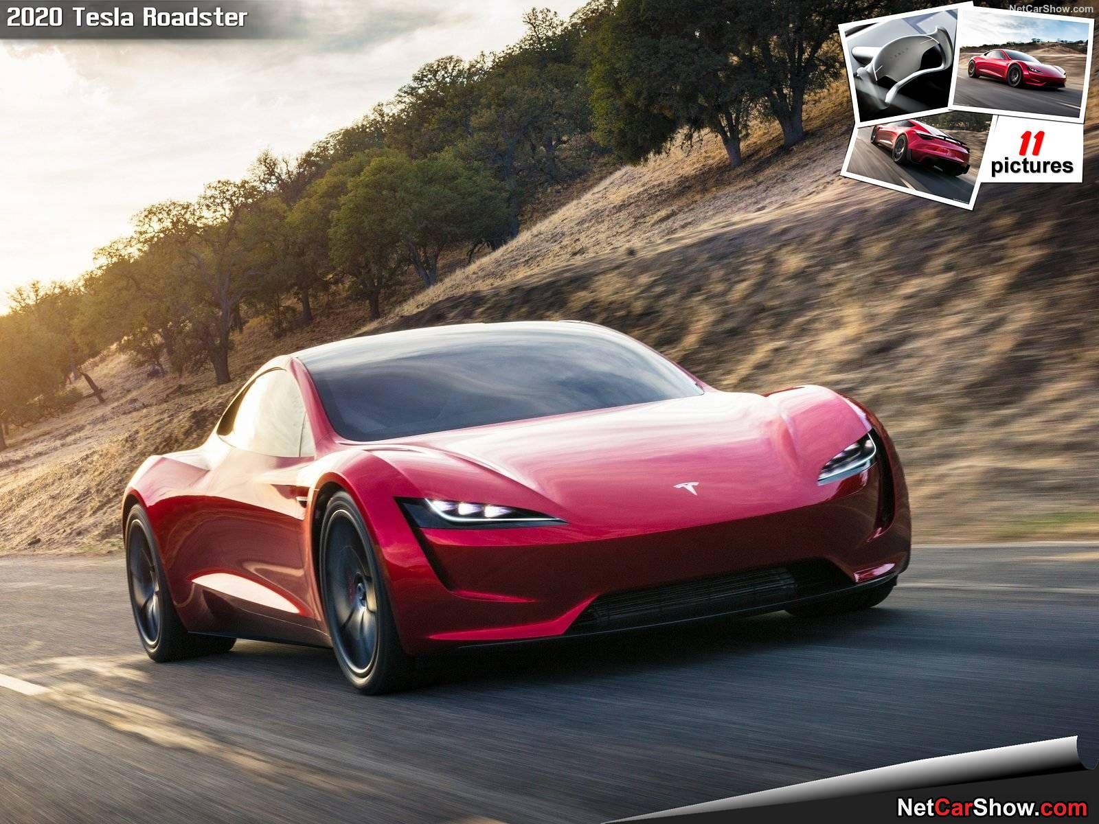 Wallpaper Hd Tesla Roadster 2020 Tesla Roadster New Tesla Roadster Tesla Supercar