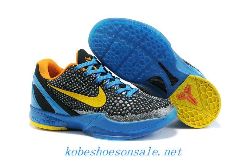 Nike Zoom Kobe 6 Womens 3D Glass Blue Dark Grey Yellow 429659 005 ... 80a9584d9