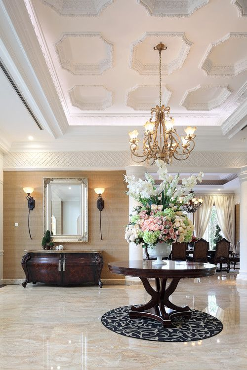30 Stylish Interior Designs With Mouldings Iron