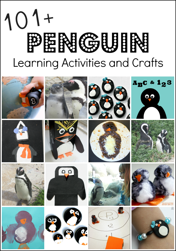 Penguin activities and penguin crafts penguin craft for Penguin project