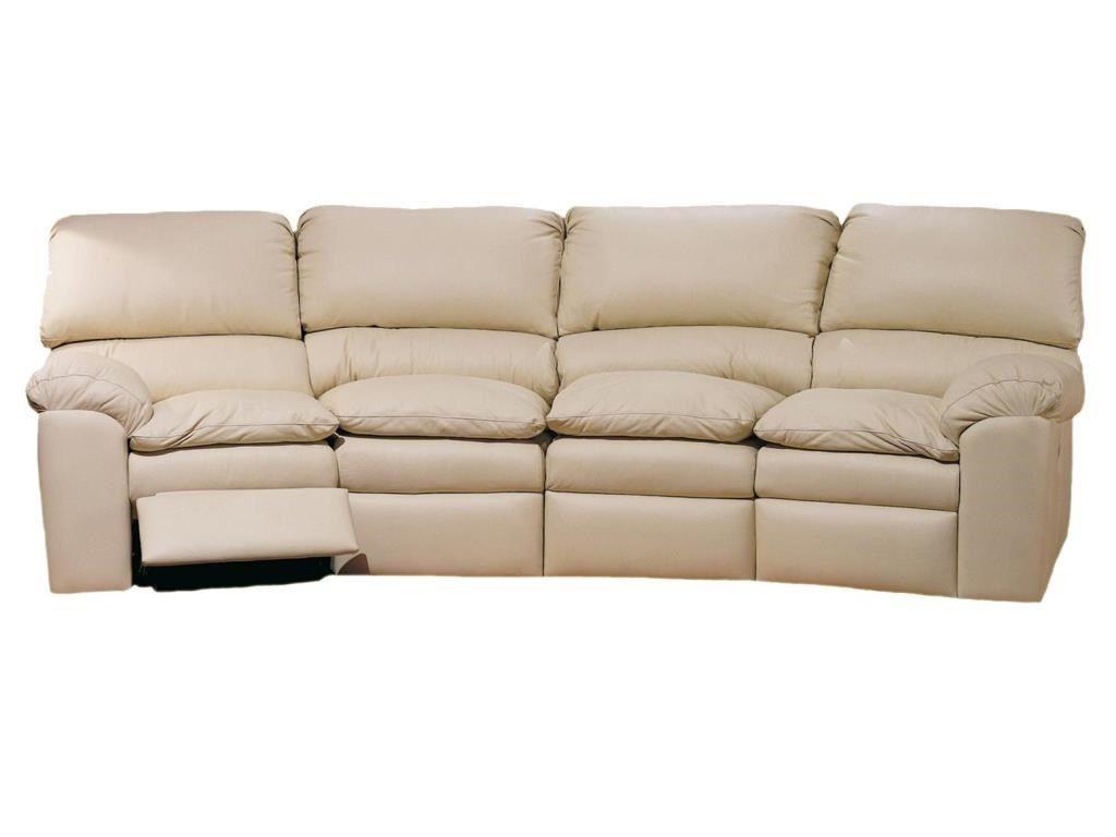 Omnia Living Room Catera Four Seat Recliner Sofa Cat700 38 The