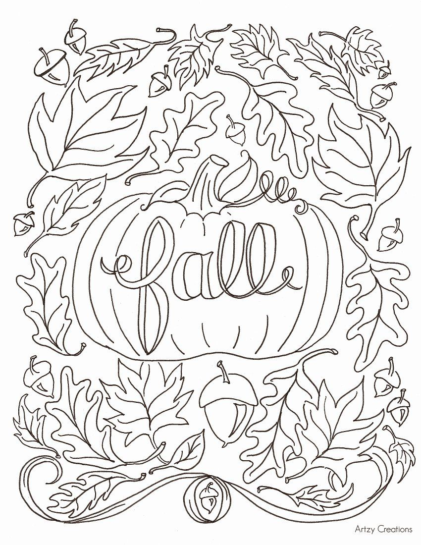 Autumn Coloring Pages For Adults Best Of Free Fall Coloring Page Artzycreations Fall Coloring Sheets Fall Leaves Coloring Pages Thanksgiving Coloring Pages