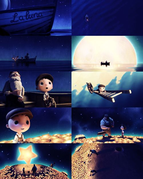 I just love the style used for this Disney Pixar short - La Luna