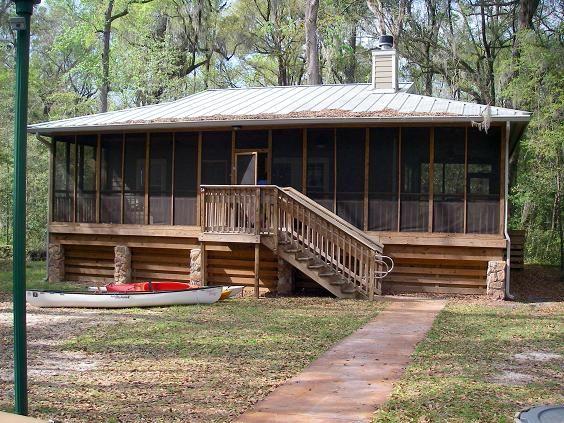 Cabins In Suwannee State Park In Live Oak Florida