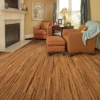 Home Legend Strand Woven Tigerstripe 3 8 In T X 3 7 8 In W X 73 1 4 In L Solid Bamboo Flooring 23 65 Sq Ft Case Discontinued Hl241s The Home Depot Solid Hardwood Floors Engineered Hardwood Flooring Flooring