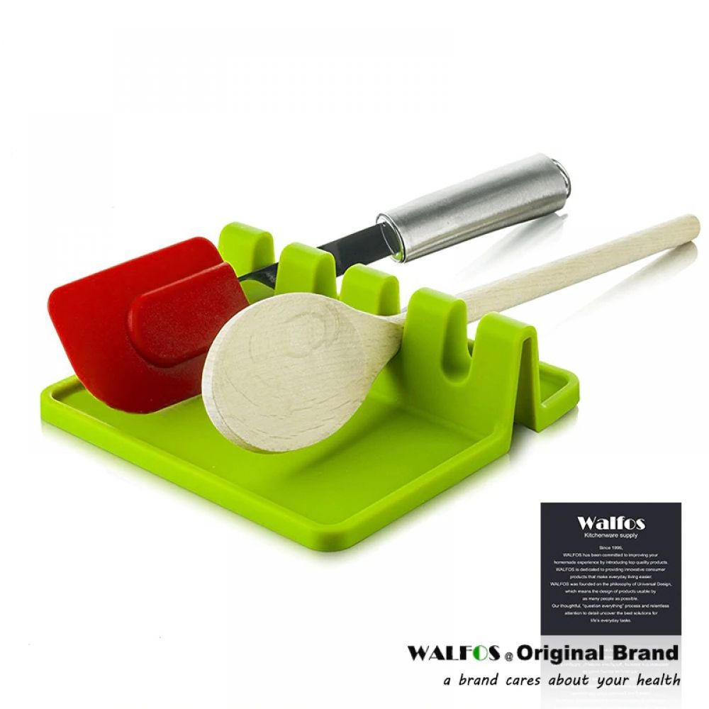 Cooking Utensil Holder Silicone Spoon Rest