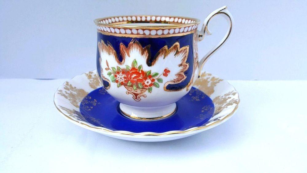 "Royal Albert Cup /& Saucer /""Tranquillity/"" Pattern Bone China England Vintage"
