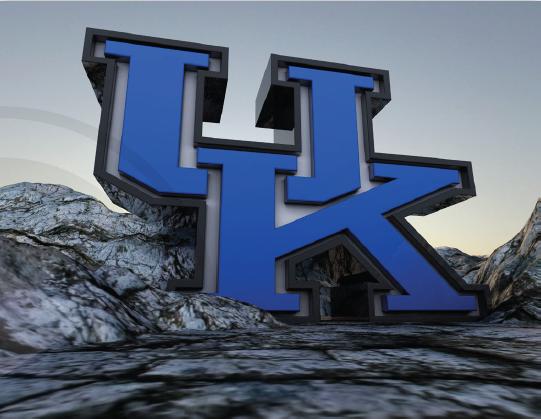 University of Kentucky 3D Graphic!